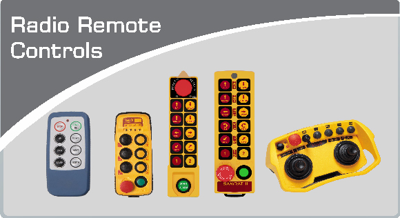 Radio Remote Controls