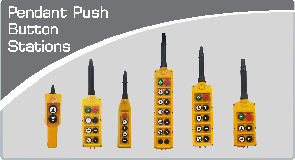 Pendant Push Buttons Stations