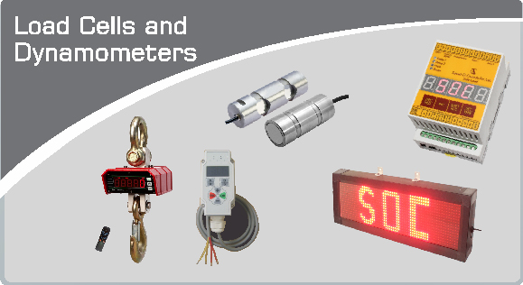 Load Cells & Dyanamometers